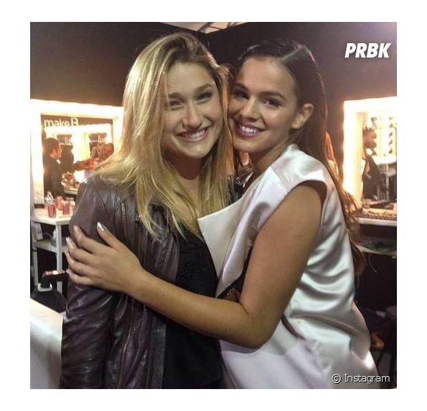 Bruna Marquezine e Sasha Meneghel se encontram em Nova York!