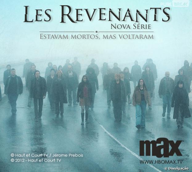 """Les Revenants"" bombou na França e vai estrear no Brasil no dia 30 de Outubro, no canal Max!"