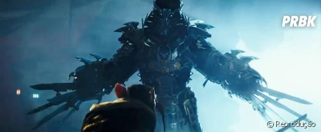 """Destruidor e Mestre Splinter em cena de prévia de """"As Tartarugas Ninja"""""""