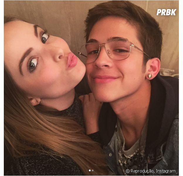 João Guilherme Ávila e Giovanna Chaves comemoram Dia dos Namorados juntos!