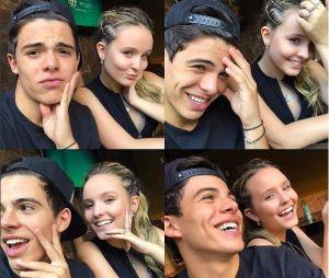 Larissa Manoela se declara para Thomaz Costa através do Instagram