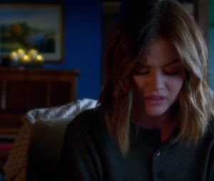 """Final """"Pretty Little Liars"""": Aria (Lucy Hale) vai dizer que não poderá casar com Ezra (Ian Harding)"""