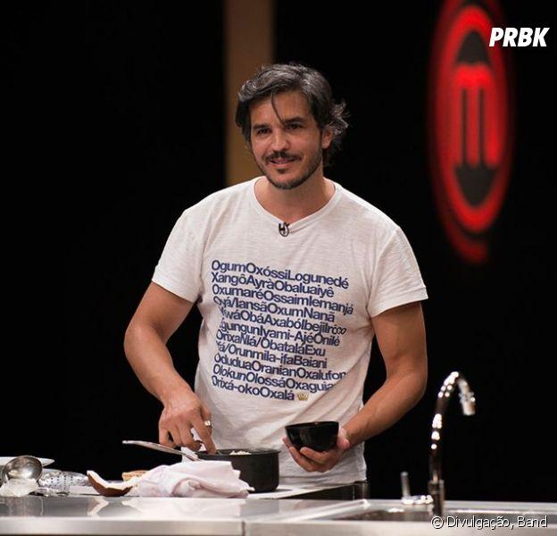 """No """"MasterChef Brasil"""", Fabrizio tem problemas com massa de bolo e é eliminado"""