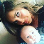 Anahi, ex-RBD, comemora os seis meses do filho e recebe carinho dos fãs na internet!