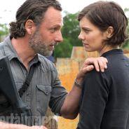 """De """"The Walking Dead"""": na 8ª temporada, Rick (Andrew Lincoln) e Maggie aparecem em nova foto!"""