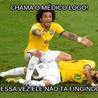 26 memes mais engraçados após contusão de Neymar Jr. na Copa 2014