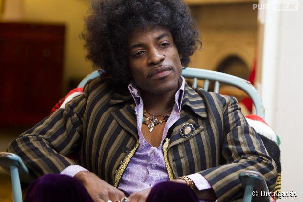 "Rapper André 3000, do OutKast, vive o músico Jimi Hendrix no filme ""All Is By My Side"""