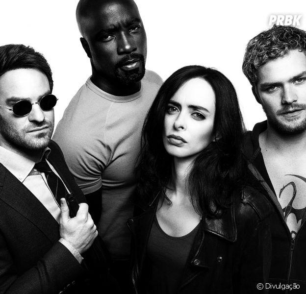 """De """"Os Defensores"""": elenco de apoio das quatro séries também se encontrará na série!"""