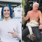 """De """"American Horror Story: Cult"""": Evan Peters aparece de cabelo azul para novo personagem!"""