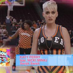 """Com Katy Perry, prévia do clipe de """"Swish Swish"""" é exibida durante comercial nos Estados Unidos"""
