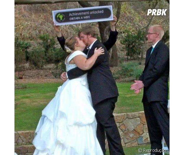 Casamento é o maior achievment para um gamer