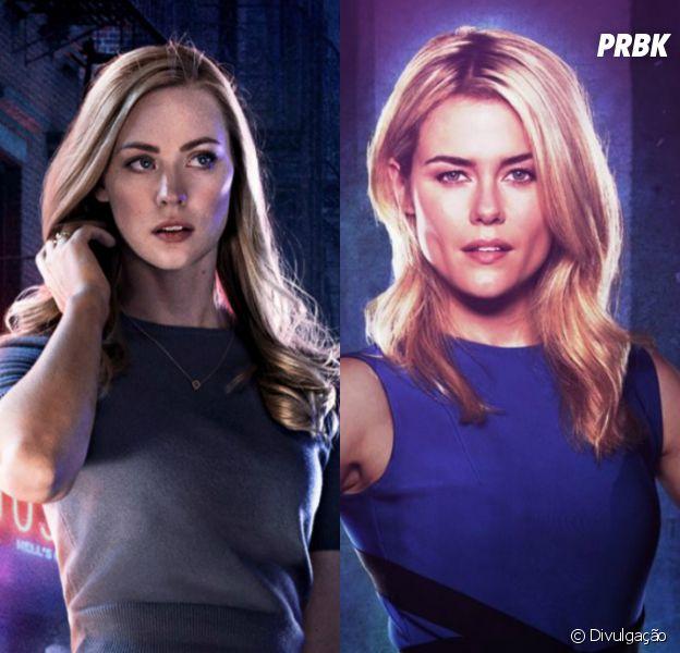 """De """"Os Defensores"""": Karen Paige (Deborah Ann Woll) e Trish Walker (Rachel Taylor) se encontram pela primeira vez no novo teaser da série!"""