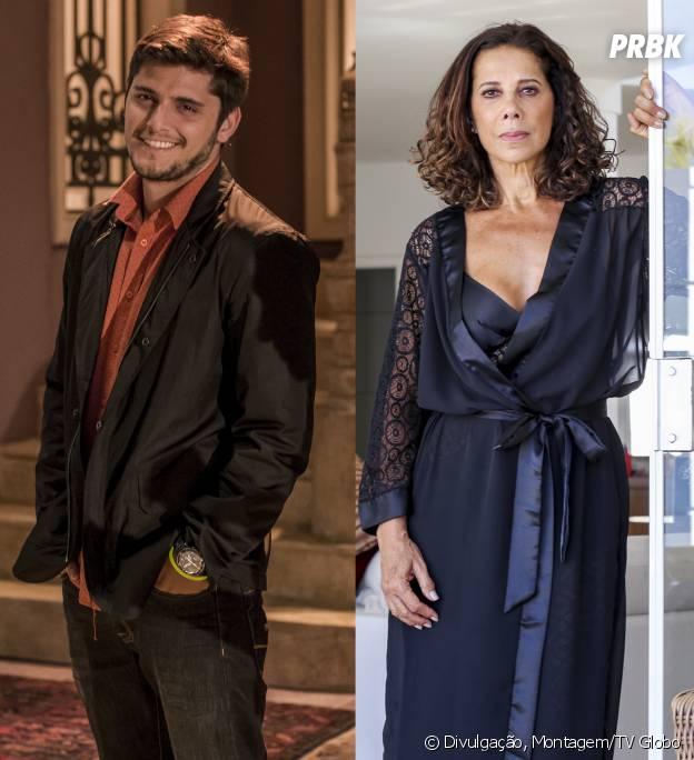 """André (Bruno Gissoni) vai descobrir que Branca (Ângela Vieira) é a sua mãe biológica na história de """"Em Família"""""""