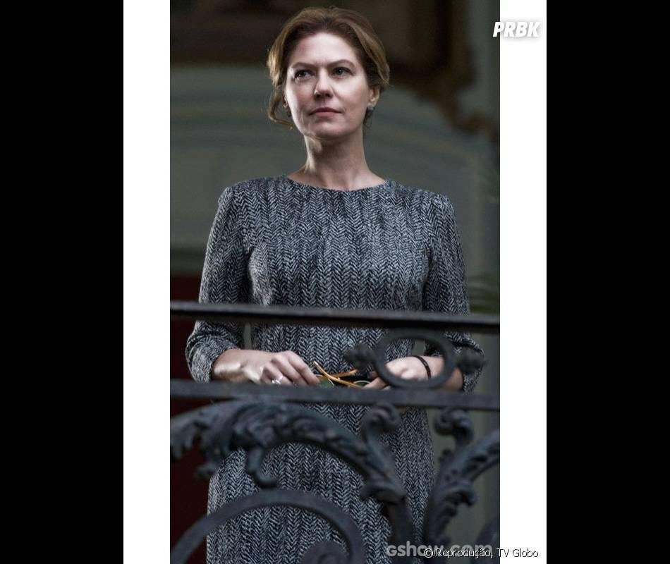 "Angela Mahler (Patrícia Pillar), será a dona da festa que vai abalar a trama de""O Rebu"""