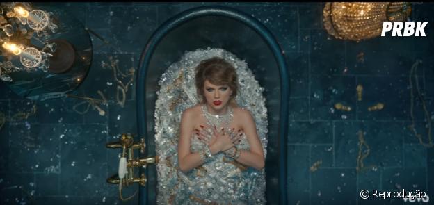 """Taylor Swift faz referência aos comentários maldosos da mídia em """"Look What You Made Me Do"""""""