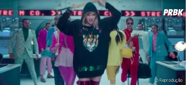 """Taylor Swift mostra canais de streaming em """"Look What You Made Me Do"""""""