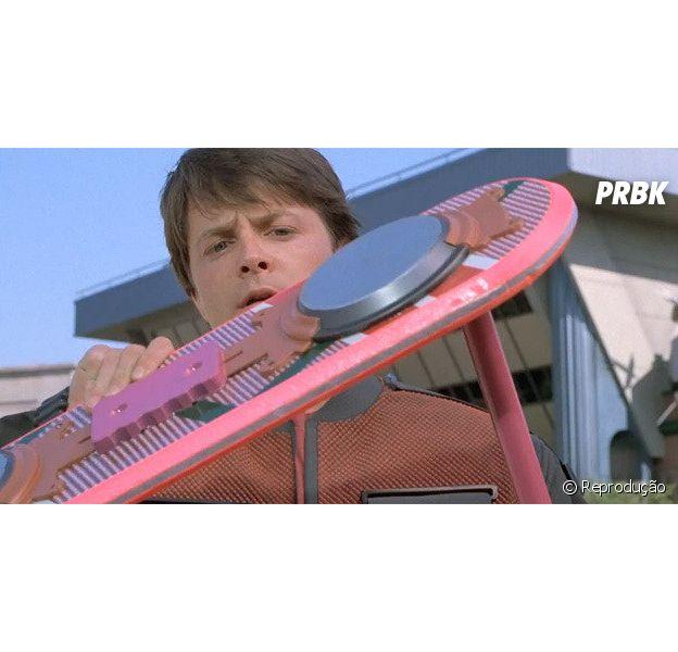 """Hoverboard usado por Marty McFly em """"De Volta Para o Futuro 2"""" vai ser leiloado"""