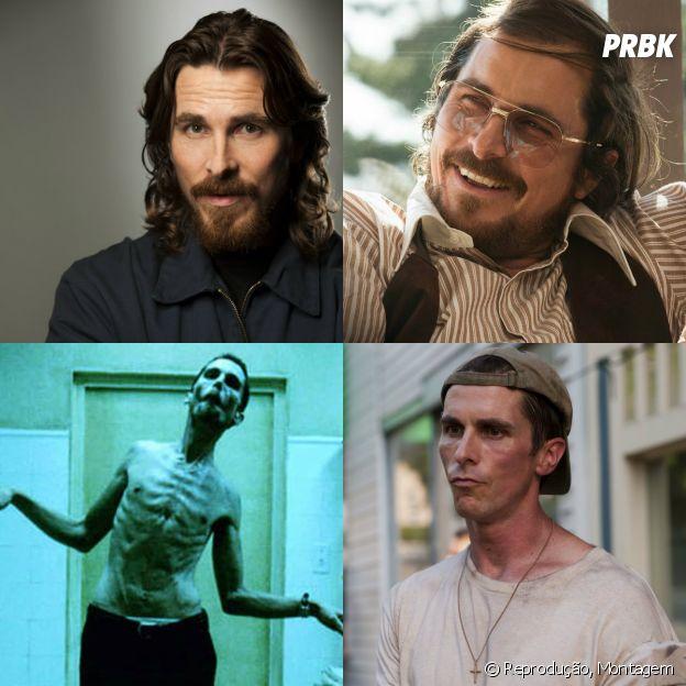 Christian Bale é outro que não nos decepciona, principalmente quando o requisito são transformações para os seus papeis!