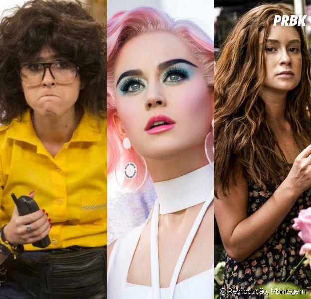 Tatá Werneck, Katy Perry e outros artistas que se transformam para novelas, clipes, programas, filmes e mais