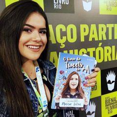 """Maisa Silva lança seu novo livro, """"O Livro de Tweets da +A"""", na Bienal do Livro do Rio de Janeiro!"""