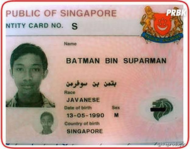 Batman Bin Suparman: haja criatividade!