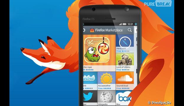 Firefox OS será usado em smartphones de baixo custo