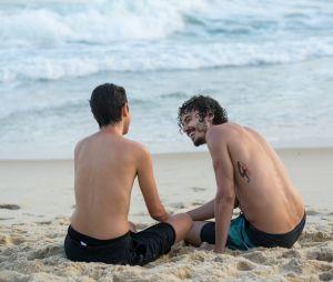 """Em """"A Força do Querer"""": Ivan (Carol Duarte) e Claudio (Gabriel Stauffer) gravaram dois finais!"""