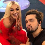 """Pabllo Vittar e Luan Santana em parceria? Cantora revela desejo: """"Um princesinho"""""""