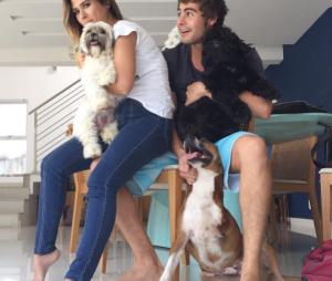"""A """"mãe de pet"""" Tatá Werneck já elegeu o """"pai"""" de seus cachorros: Rafael Vitti!"""