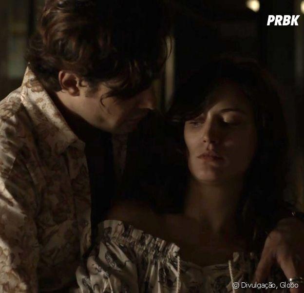 """Em """"O Outro Lado do Paraíso"""", Clara (Bianca Bin) reage contra Gael (Sergio Guizé)"""