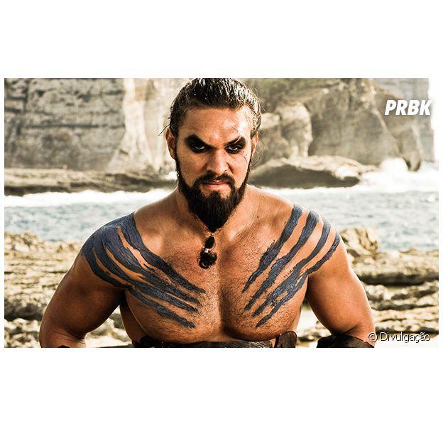 """Em """"Game of Thrones"""", Khal Drogo (Jason Momoa) pode aparecer em flashbacks da 8ª temporada!"""