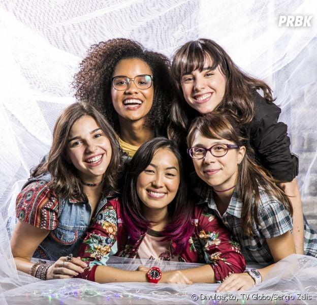 """Fim das Five em """"Malhação"""" é pauta de entrevista com atrizes da novela"""