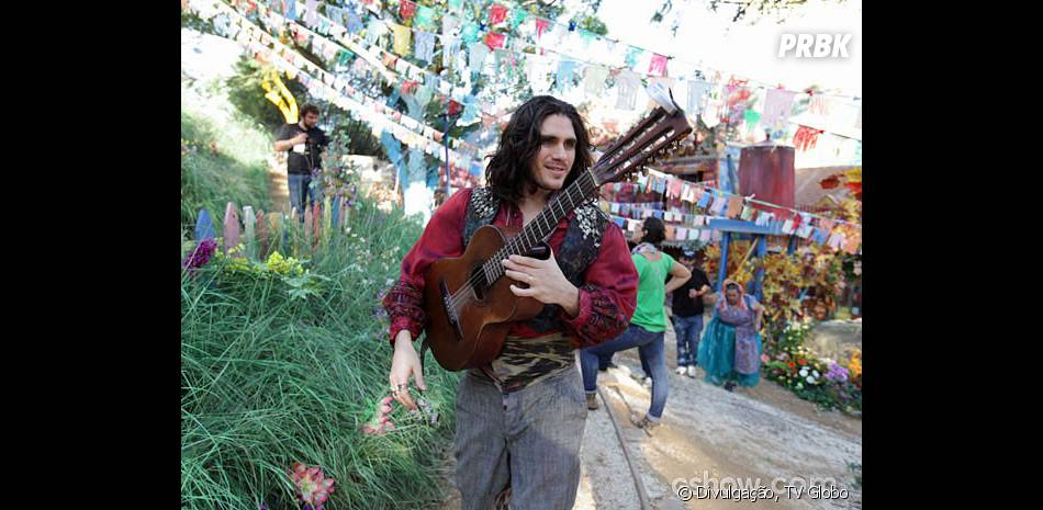 """Em """"Meu Pedacinho de Chão"""", Viramundo (Gabriel Sater) vai para o casamento!"""