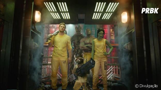 """""""Guardiões da Galáxia"""" traz um grupo de renagados numa missão para salvar o universo"""