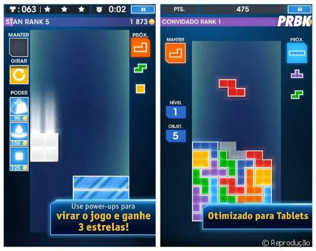 """O clássico """"Tetris"""" voltou com tudo numa versão mais moderna"""