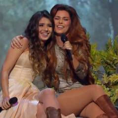 "Paula Fernandes e Shania Twain em clipe de ""You're Still The One"""