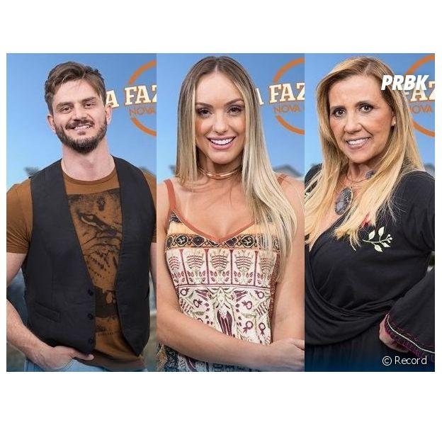 """De """"A Fazenda"""": Marcos, Monick ou Rita, quem deve sair nessa roça?"""