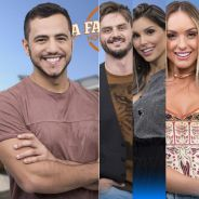 """Em """"A Fazenda"""": Matheus garante vaga na final; Marcos, Flávia e Monick estão na última roça!"""
