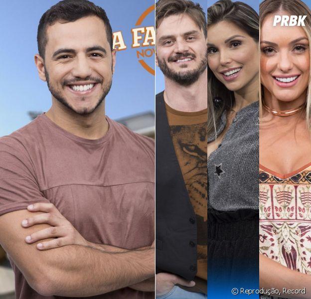 "Veja como foi o programa de segunda-feira (04) de ""A Fazenda"", da Record"