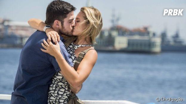 """Em """"A Força do Querer"""", Zeca (Marco Pigossi) e Jeiza (Paolla Oliveira) viveram entre tapas e beijos!"""