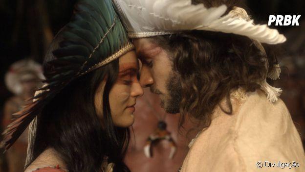 """Em """"Novo Mundo"""", Anna (Isabelle Drummond) e Joaquim (Chay Suede) sofreram muito até finalmente ficarem juntos"""