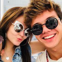 """Larissa Manoela ganha declaração do namorado no aniversário de 17 anos: """"Te amo"""""""