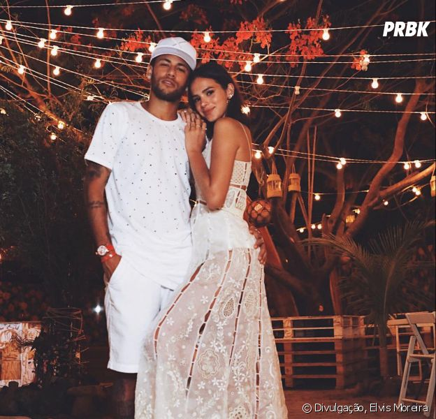 Bruna Marquezine e Neymar estiveram juntos pela última vez na virada do ano de 2018
