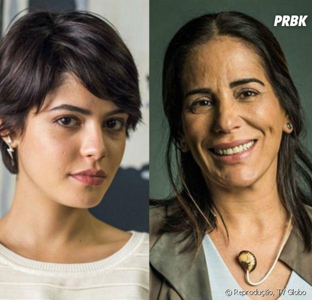 """Em """"O Outro Lado do Paraíso"""": Adriana (Julia Dalavia) descobre que Duda (Gloria Pires) é sua mãe"""