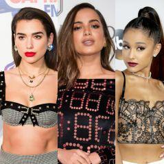 Anitta, Ariana Grande, Dua Lipa e os looks de clipes para inspirar fantasias de Carnaval