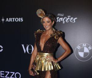 Baile da Vogue 2018: Ticiane Pinheiro aproveitou o tema - Brasil - e foi de brigadeiro, quer algo mais brasileiro que isso?