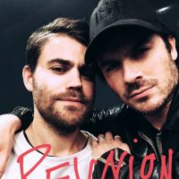 "Ian Somerhalder e Paul Wesley, de ""The Vampire Diaries"", se reencontram em evento"