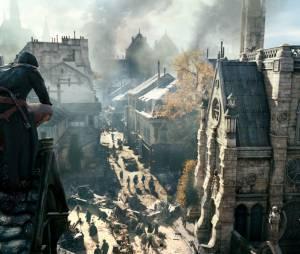 "Gameplay de ""Assassin's Creed: Unity"" na Catedral de Notre Dame"