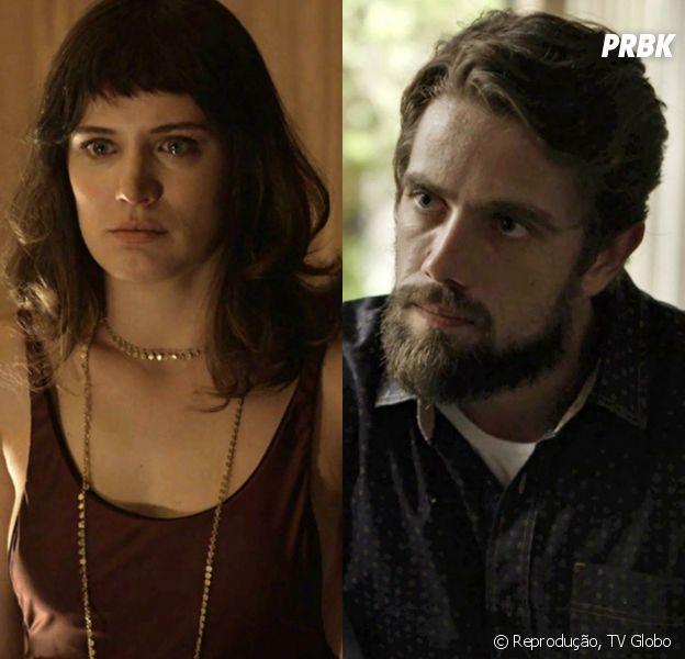 """Em """"O Outro Lado do Paraíso"""": Renato (Rafael Cardoso) promete se vingar de Clara (Bianca Bin) e procura Fabiana (Fernanda Rodrigues) para que ela se torne sua aliada"""