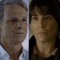 """Novela """"O Outro Lado do Paraíso"""": Beth desmascara Renan com ajuda de Patrick e o humilha"""